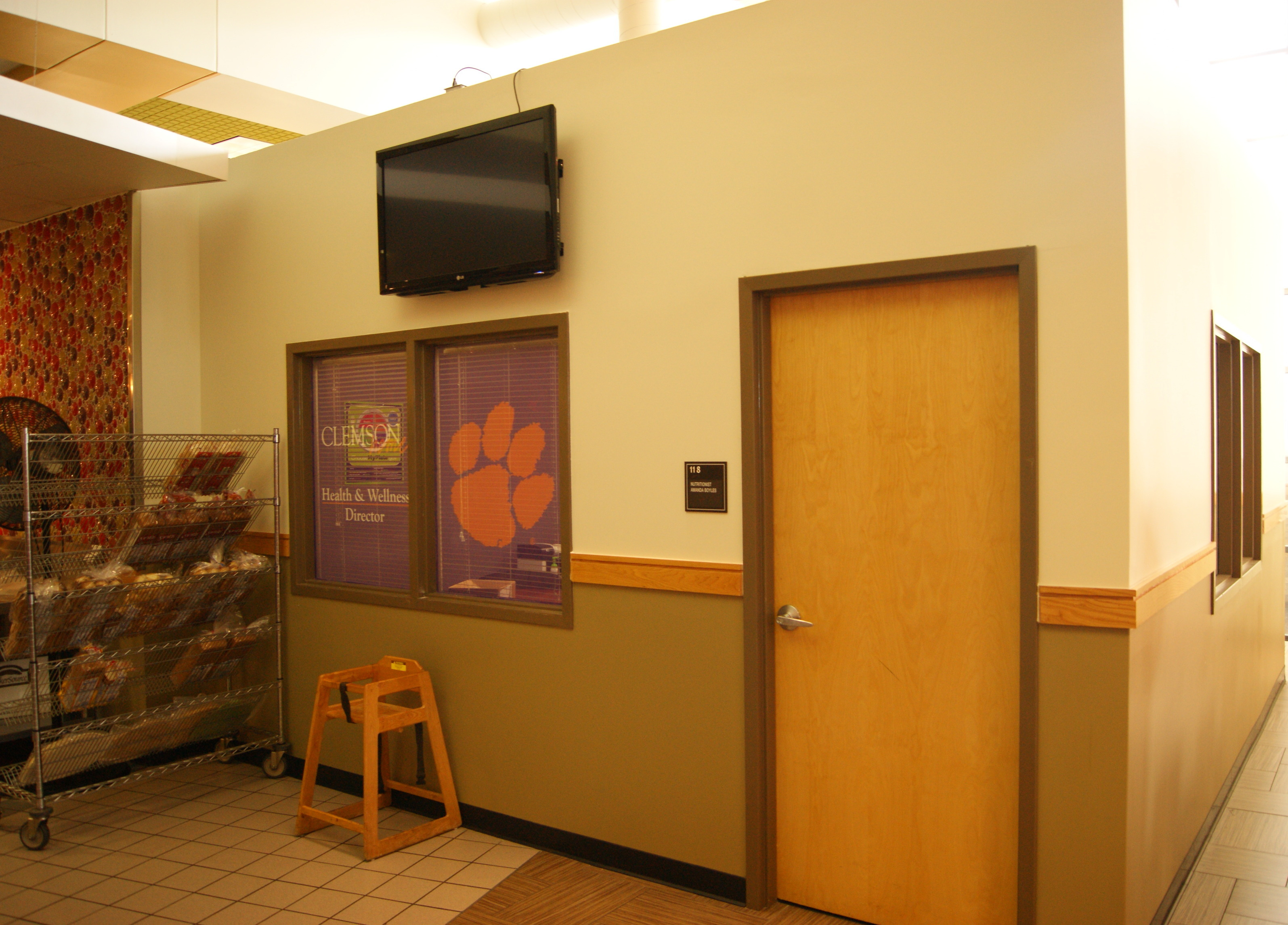 clemson nutritionist office